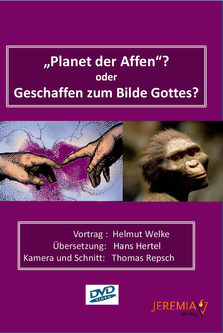 Planet der Affen? oder Geschaffen zum Bilde Gottes?